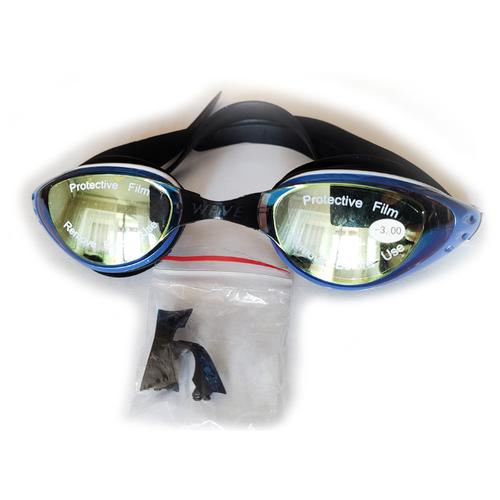 Очки для плавания Wave с диоптриями -3.0 очки для плавания mad wave spurt rainbow azure white