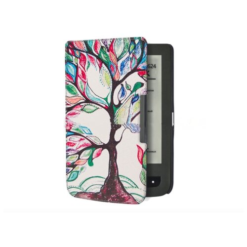 Чехол-обложка футляр MyPads для PocketBook 624 Basic Touch/ PocketBook 614 Basic 2/ PocketBook 615 тонкий с магнитной застежкой необычный с рисунком тематика Сказочное Дерево