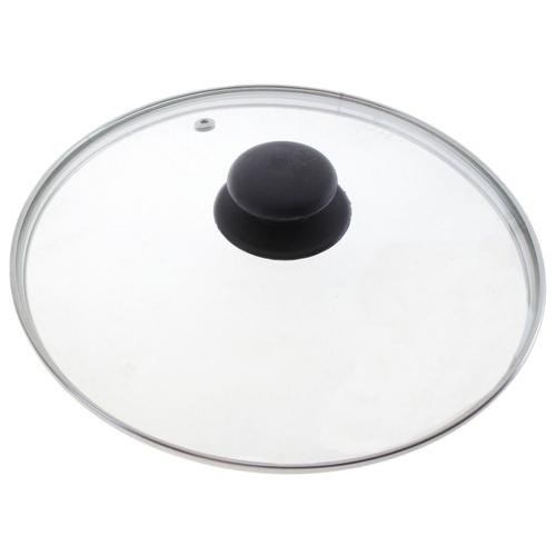 Крышка Mallony 987025, 32 см прозрачный/черный по цене 501