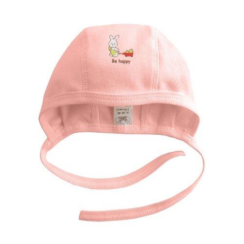 Купить Чепчик Наша мама размер 42-44(74), розовый, Головные уборы