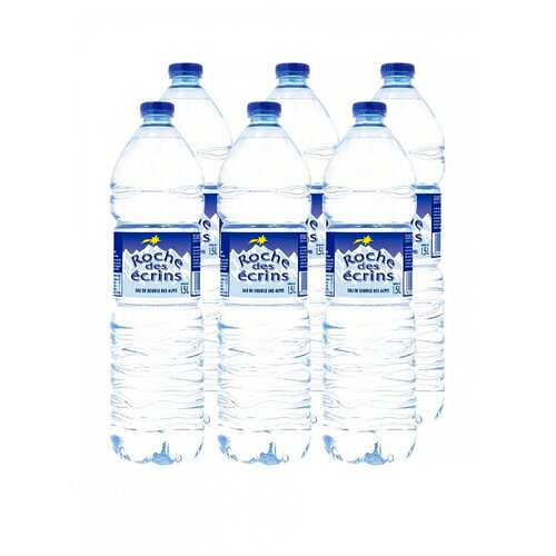 Вода минеральная Roche Des Ecrins негазированная, ПЭТ, 6 шт. по 1.5 л