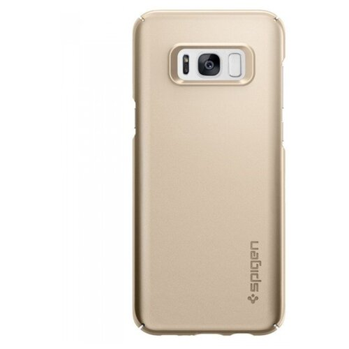 Фото - Чехол-накладка Spigen Thin Fit (571CS2167) для Samsung Galaxy S8+ gold maple чехол spigen thin fit white apple watch 4 44mm