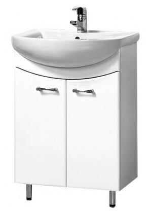 Тумба для ванной комнаты с раковиной АКВАЛЬ
