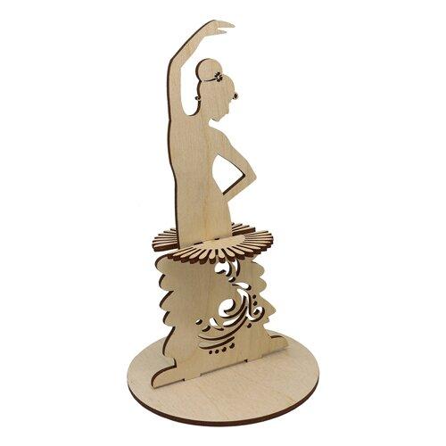 Купить Astra & Craft Деревянная заготовка для декорирования салфетница Кармен L-856 береза, Декоративные элементы и материалы