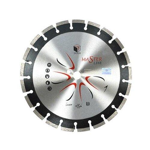 Диск алмазный отрезной 400x3x25.4 DIAM Master Line 528 1 шт. круг алмазный diam ф200x25 4мм 1a1r granite elite 1 6x7 5мм по граниту