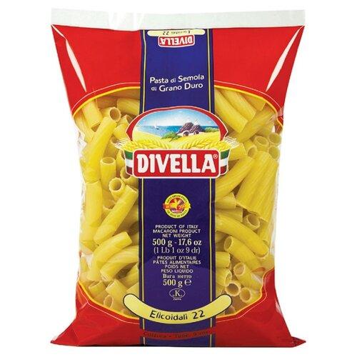 Divella Макароны Elicoidali 22 из твердых сортов пшеницы, 500 г мистраль крупа манная семолина из твердых сортов пшеницы 450 г