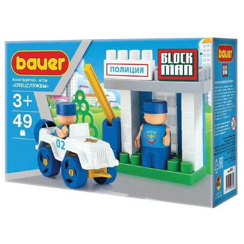 Конструктор Bauer Полиция 634-49 конструктор bauer автодорога 325 50