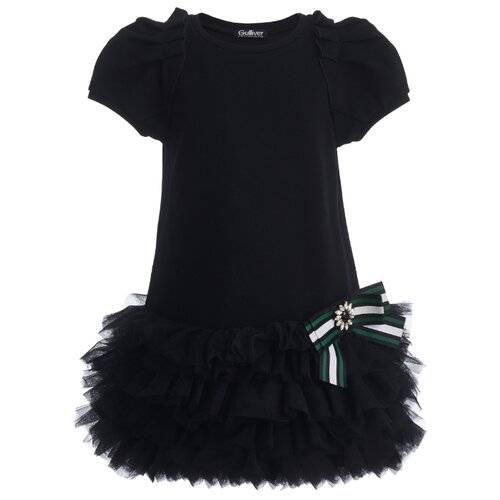 Купить Платье Gulliver размер 98, черный, Платья и сарафаны