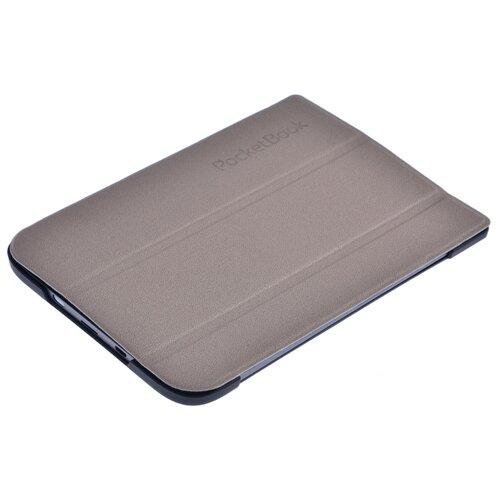Чехол для книг PocketBook 616/627/632 трансформер светло серый