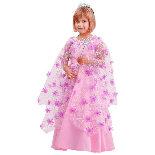 Купить Костюм пуговка Фея (2074 к-20), розовый, размер 134, Карнавальные костюмы