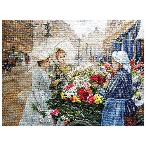 Купить PANNA Набор для вышивания Парижанки 38 х 28 см (VH-1404), Наборы для вышивания
