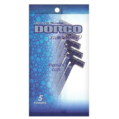 Бритвенный станок Dorco TD705 ,синий, 5 шт.