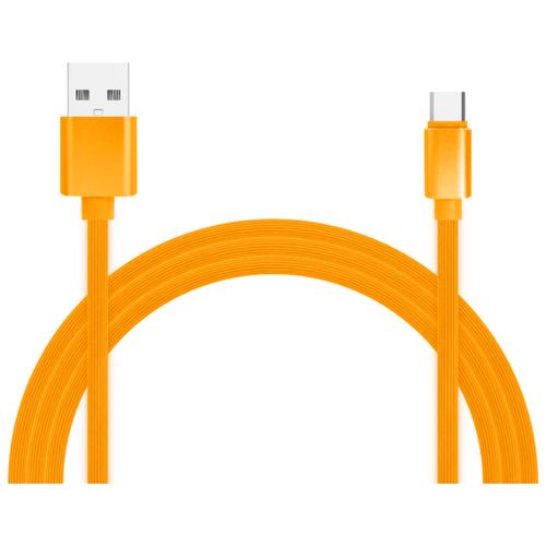 Кабель Jet.A USB - USB Type-C (JA-DC34) 1 м оранжевый