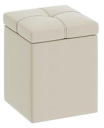 Пуфик с ящиком для хранения ТриЯ Остин искусственная кожа
