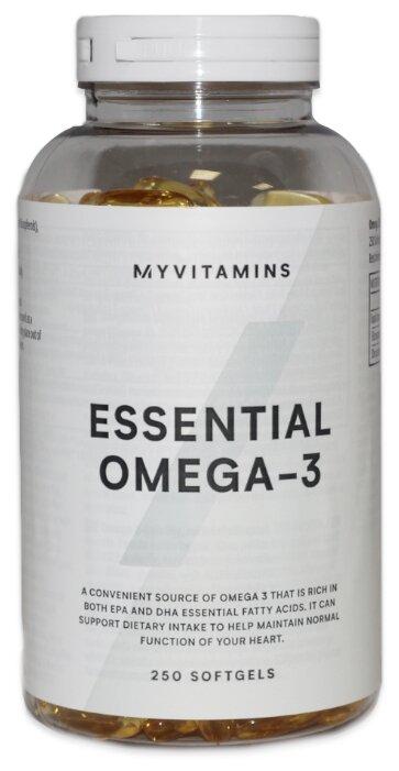 Купить Омега жирные кислоты Myprotein Essential Omega-3 (250 капсул) нейтральный по низкой цене с доставкой из Яндекс.Маркета