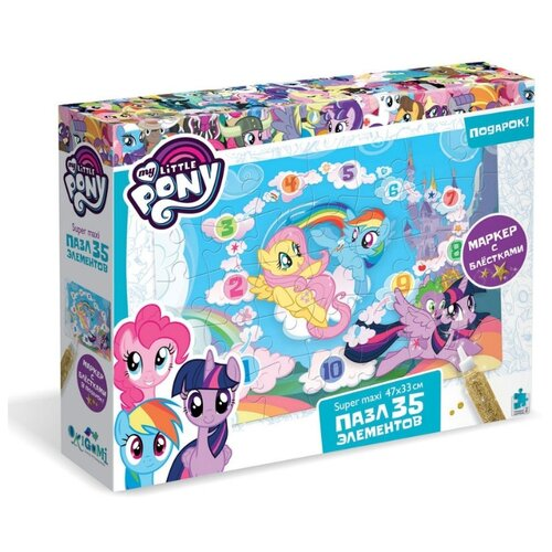 Купить Пазл Origami My Little Pony Облачный замок (04396), 35 дет., Пазлы