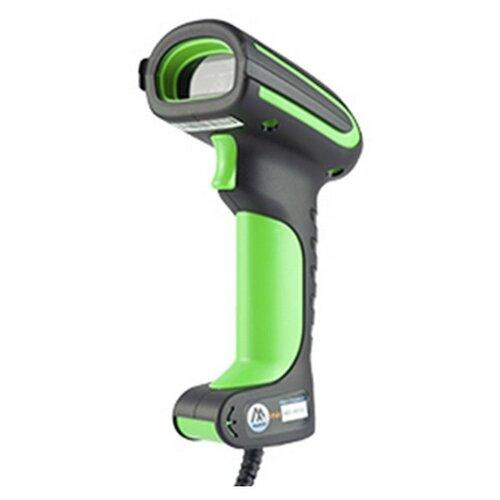 Сканер штрих-кода ручной МойPOS MSC-1901C2D зеленый/черный