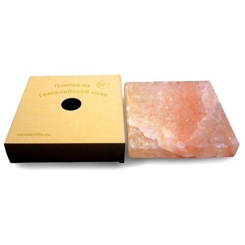 Соляная плитка Wonder Life WL-B4-20F-0-Box (20х20х4 см)