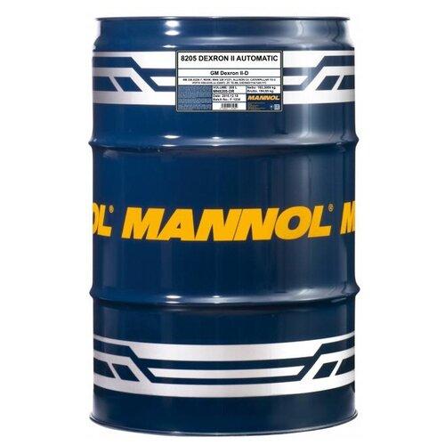 Трансмиссионное масло Mannol DEXRON II Automatic 208 л