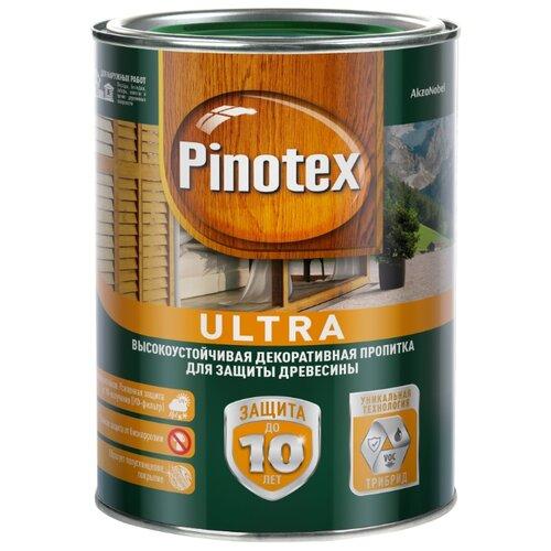 Водозащитная пропитка Pinotex Ultra сосна 1 л