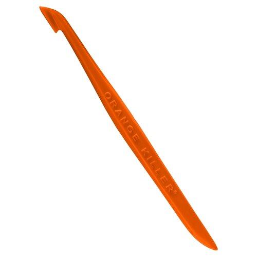 Нож для цедры Orange killer для чистки цитрусовых оранжевый