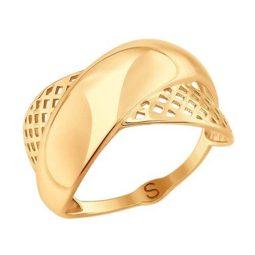 SOKOLOV Кольцо из золота 017701, размер 18 sokolov кольцо из золота 018390 размер 18 5