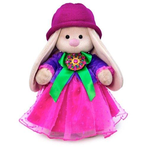 Купить Budi Basa Мягкая игрушка Зайка Ми Карминовый топаз, 25 см, BUDI BASA collection, Мягкие игрушки