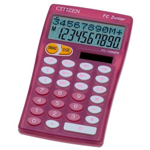 Калькулятор научный CITIZEN FC-100N розовый