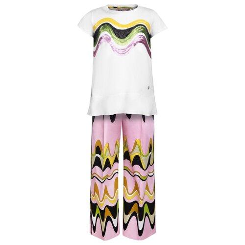 Комплект одежды Emilio Pucci размер 164, белый/розовый emilio pucci beauty case