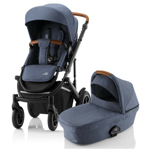 Универсальная коляска Britax Smile 3 (2 в 1) indigo blue коляска 3 в 1 indigo indigo 18 special f sp 12 белая кожа