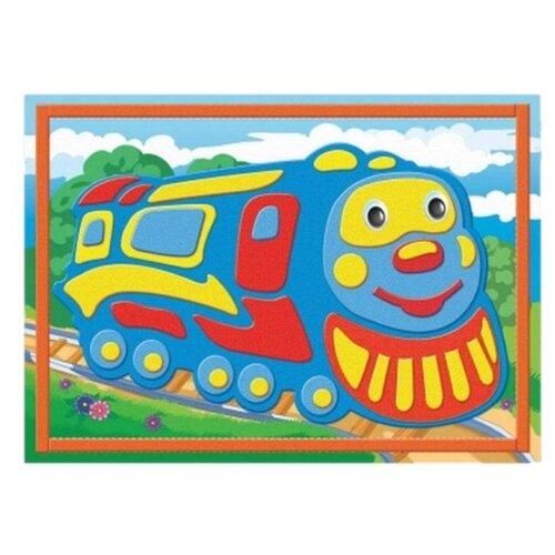 Купить Рыжий кот Аппликация 3D Поезд (М-7630), Поделки и аппликации