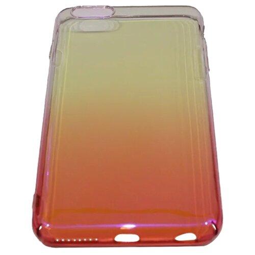 Фото - Чехол-накладка SpeedRoll МС719 для Apple iPhone 6 Plus/iPhone 6S Plus красный чехол накладка sensocase 100080 защитное стекло для apple iphone 6 plus iphone 6s plus лыжный спорт 2