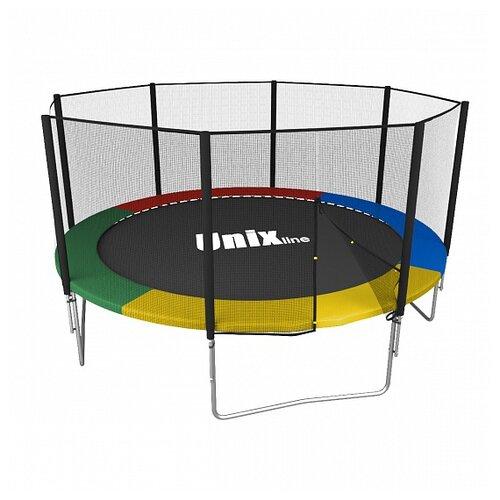 Каркасный батут Unix Line 10ft Simple (outside) 305х305х241 см мультиколор