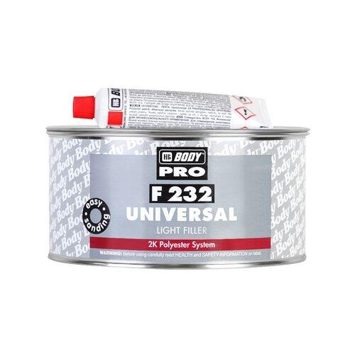 Комплект (шпатлевка, отвердитель) HB BODY PRO F232 Universal 1000 мл