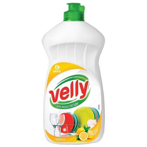 GraSS Средство для мытья посуды Velly Нежный лимон 0.5 л