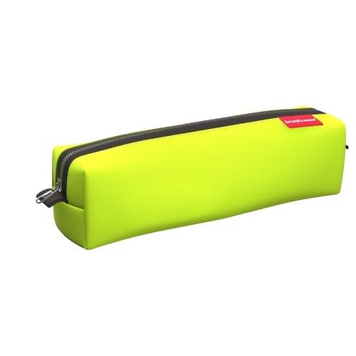 Купить ErichKrause Пенал квадро mini Neon yellow, Пеналы