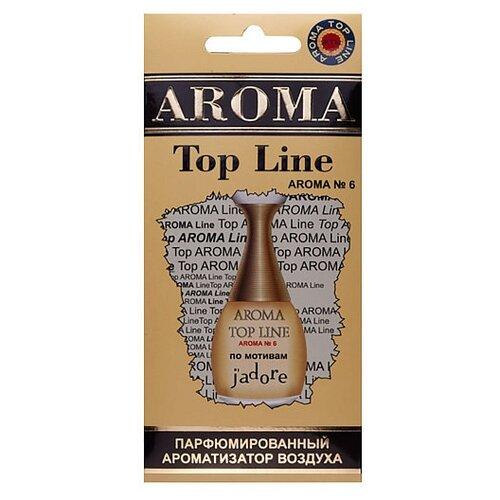 AROMA TOP LINE Ароматизатор для автомобиля Aroma №6 Dior Jadore 14 г