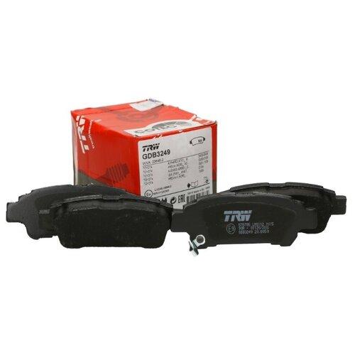Дисковые тормозные колодки задние TRW GDB3249 для Toyota Alphard, Toyota Avensis Verso, Toyota Estima, Toyota Isis (4 шт.)
