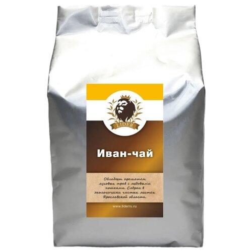 Чай травяной Lider Иван-чай листовой , 500 г чай листовой gutenberg марокканский апельсин черный ароматизированный 500 г