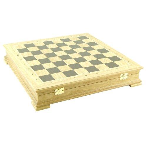 WoodGames Шахматная доска Стаунтон 45мм, дуб