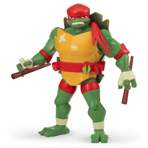 цена на Фигурка Playmates TOYS Rise of the Teenage Mutant Ninja Turtles: Battle Shell Raphael 81458