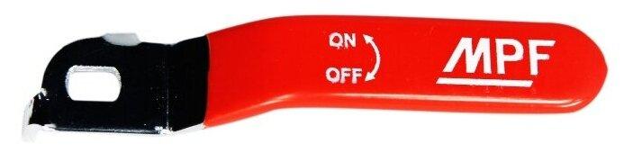 Кран шаровый комплектующие Masterprof Ручка длинная усиленная ИС.131178