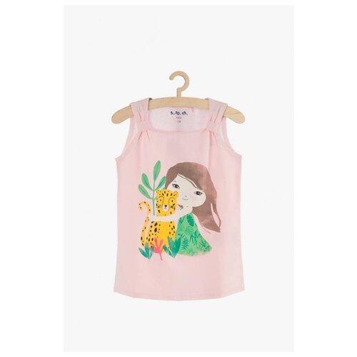 Купить Майка 5.10.15 размер 92, розовый, Футболки и рубашки