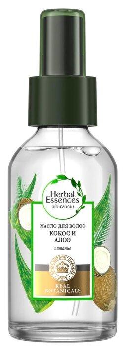 Herbal Essences bio:renew Масло для волос Кокос и алоэ