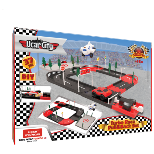 Купить Terides Т5-204 черный/красный/серый, Детские парковки и гаражи