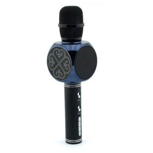 Беспроводной караоке-микрофон SY-63 (чёрный)