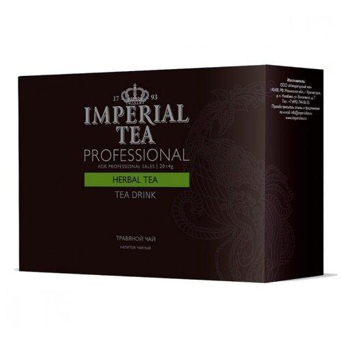 Чайный напиток травяной Императорский чай Professional Herbal tea в пакетиках для чайника , 20 шт. фото