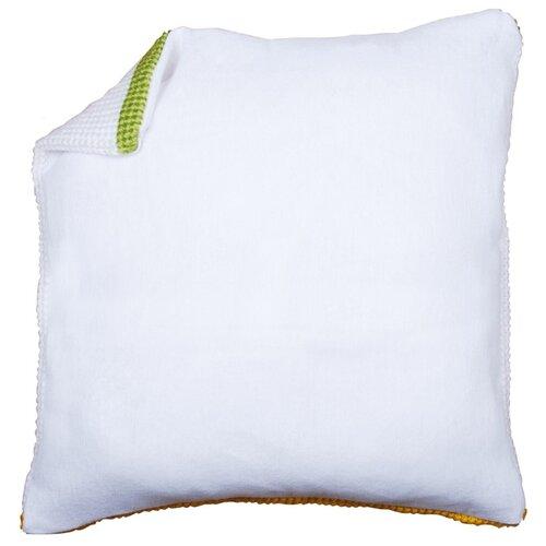 Купить Обратная сторона наволочки без молнии Vervaco, цвет: белый, 45x45 см, арт. PN-0174416, Ткани