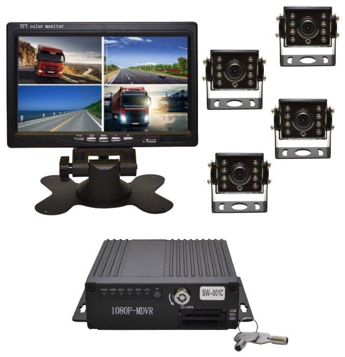 Система видеонаблюдения для транспорта Ронас 1001R
