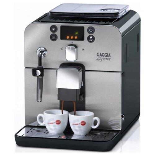 Кофемашина Gaggia Brera черный/серебристый